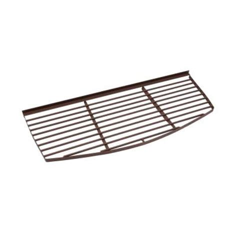 Grate Home Depot rockwell 28 in x 70 in cascade metal window well bar grate gc 6628 the home depot