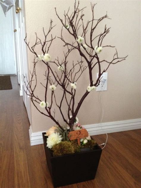 manzanita tree centerpieces for sale manzanita centerpiece s without breaking the bank weddingbee