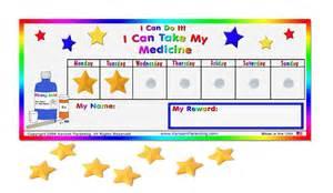medicine reward chart toddler child preschool ebay