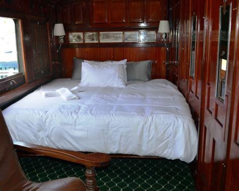 carrozze ferroviarie dismesse sudafrica il treno vintage diventa hotel con vista