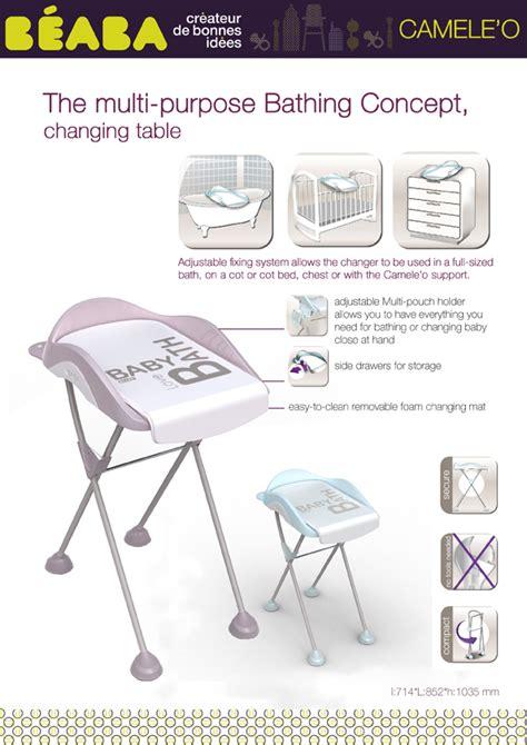 Changing Table Sheet Beaba Camele O Change Table