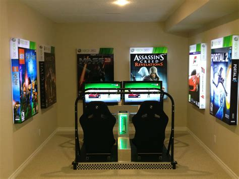 video game bedroom ideas visited a model home today this was in the basement