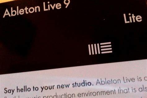 Ableton Live 9 Lite by Live 9 Lite Ableton Live 9 Lite Audiofanzine