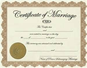 License Certificate Template by Marriage License Weare Nh