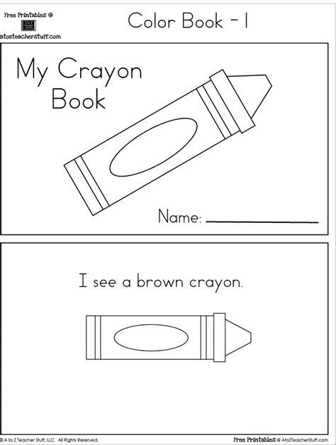 Book Colors Worksheets For Preschool Book Best Free Printable Worksheets Free Preschool Printable Books
