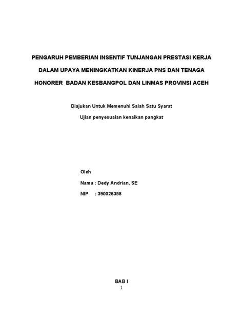 format makalah kenaikan pangkat pns makalah kenaikan pangkat