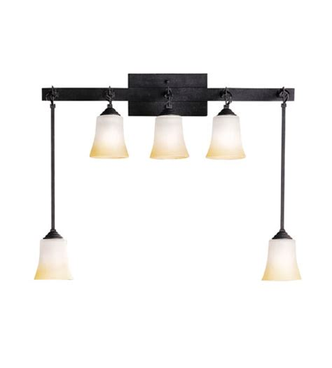 black bathroom lighting kichler lighting meredith 5 light bath vanity in
