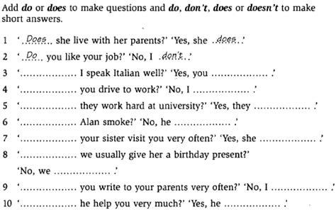preguntas y respuestas en presente simple do does saying yes to learning makes a big difference simple