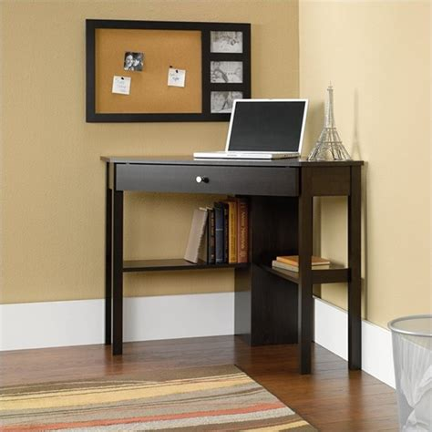 Sauder Corner Desk Sauder Select Corner Cinnamon Cherry Finish Computer Desk Ebay