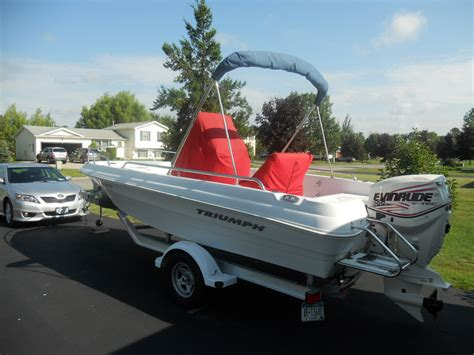 triumph boat bow cushion 2008 triumph 190 bay the hull truth boating and