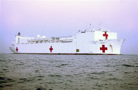 navy hospital ship comfort military sealift command hospital ship usns comfort t ah