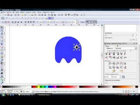 tutorial inkscape pacman tutorial inkscape fantasma pacman youtube