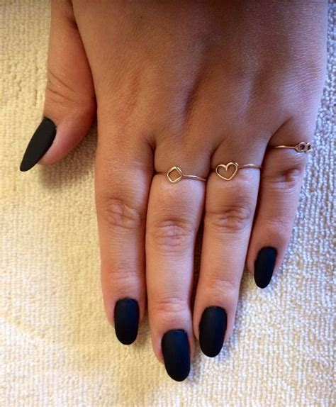 trend nail color 2014 black matte nails 2014 matte nail trend pin s by anacary