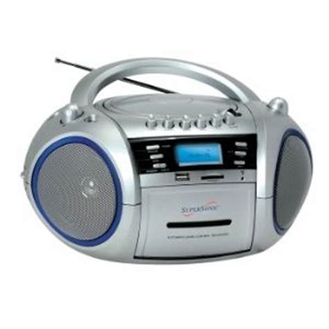 best small cd player supersonic sc 183um portable mp3 cd wma player cassette