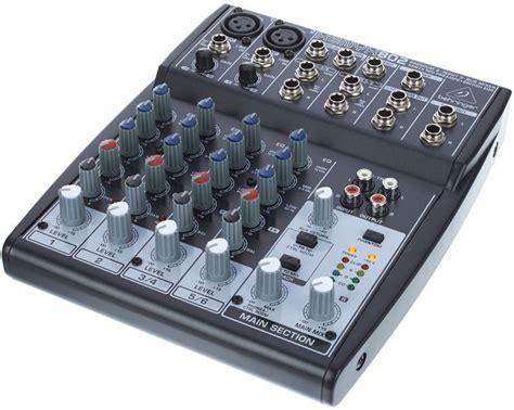 Mixer Behringer Xenyx 802 behringer xenyx 802 mixer musikhaus thomann