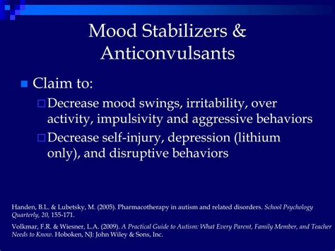lithium mood swings ppt a review of pharmacotherapy for autism treatment