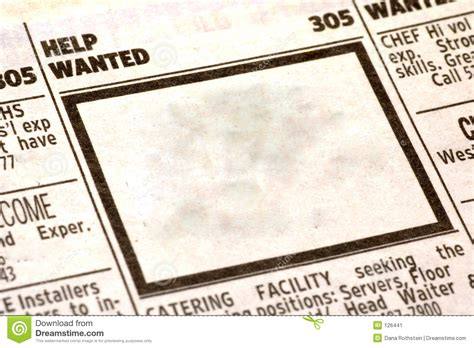 Advertisement Clipart Help Wanted Pencil And In Color Advertisement Clipart Help Wanted Help Wanted Newspaper Ad Template