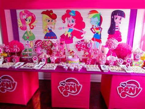 pony equestria girls party prop event