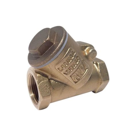 swing check valve 236ab lf brass swing check valve white valve corp