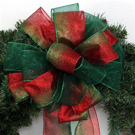 tree bows tree topper bows package bows