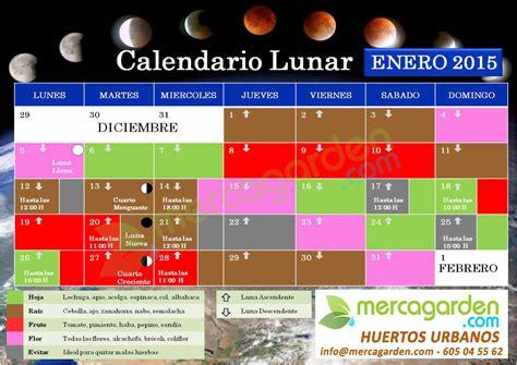 Calendario De Lunas 2015 Calendario Lunar Enero 2015 Ecolog 237 A Taringa