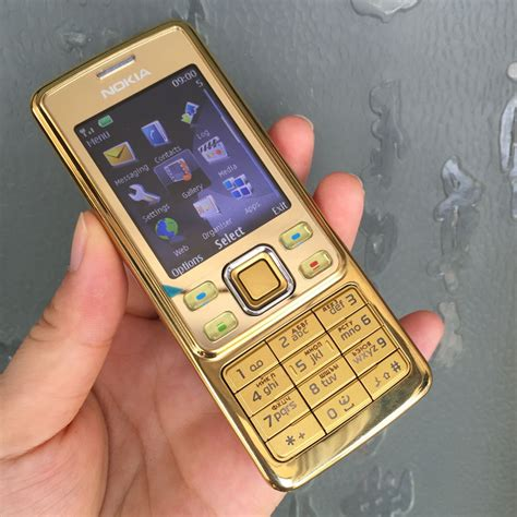 Nokia 6300 Gold Emas Termurah original nokia 6300 mobile phone classic cellphone 6300 gold one year warranty russian