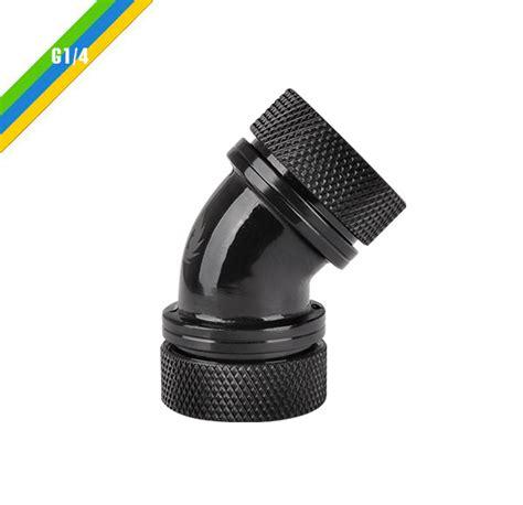 Thermaltake Pacific G14 Petg 16mm Od Compression Black thermaltake germany pacific g14 petg 45 degree