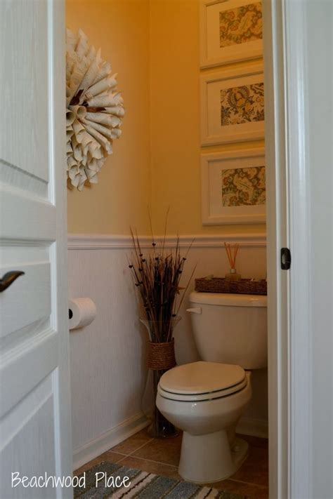 Half Bathroom Decorating Ideas Pictures by Half Bath New House Ideas Pinterest