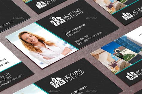 Card Preview by Real Estate Business Card Template By Godserv2 Graphicriver