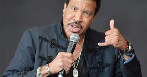 Richie Now Wasting Away In The Uk by Lionel Richie Really Was Up All After