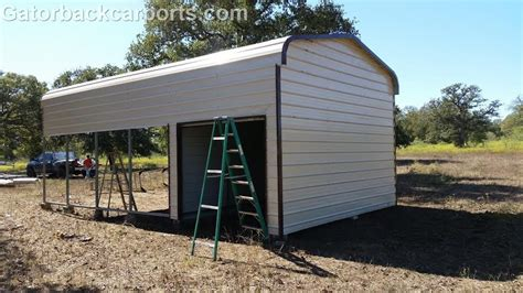 Carport With Storage by Combo Units Carports With Storage Gatorback Carports