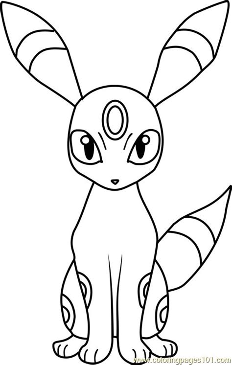 umbreon pokemon coloring page 77 best colouring templates images on pinterest coloring