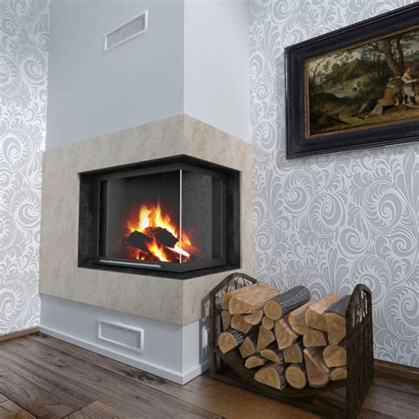 Fireplace 3d by Realistic Fireplace 3d Model