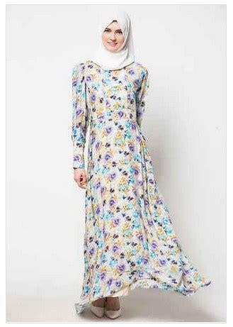 Busana Dress Wanita Arc 004 til syar i dengan koleksi busana muslim modern motif bunga