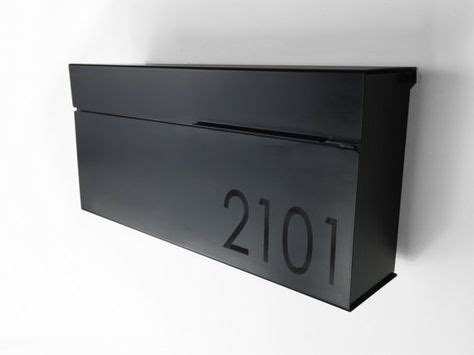 Modern Wall Mailbox by Best 25 Contemporary Mailboxes Ideas On