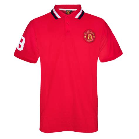 Polo Shirt Manchester United 036 manchester united fc official football gift mens crest polo shirt ebay