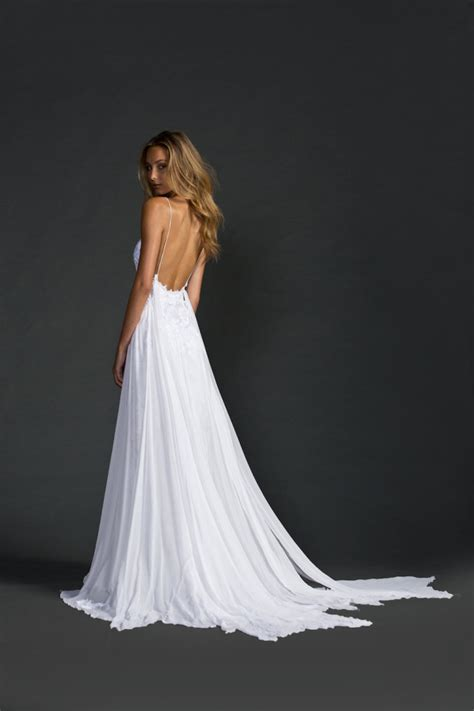 beautiful backless wedding dresses gowns