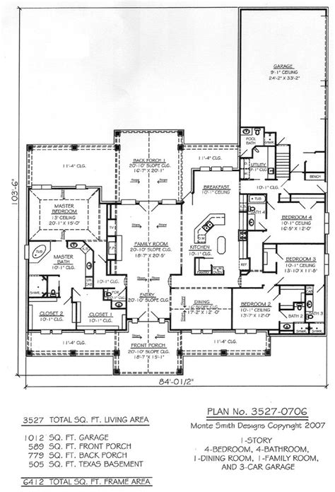 single story farmhouse floor plans home design one story craftsman house plans farmhouse