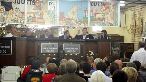 vente publique herg 233 tintin 224 la salle de ventes rops 224 namur belgique 10 mai 2009 record