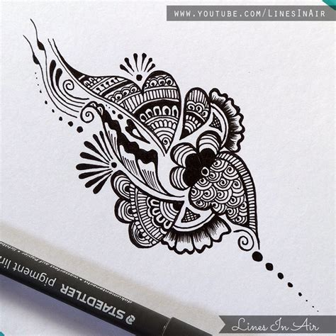 simple henna design drawing simple mehandi design drawing www imgkid com the image
