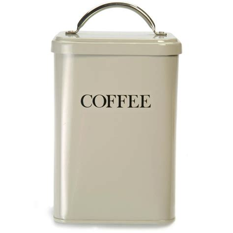 coffee kitchen canisters buy garden trading coffee canister clay amara