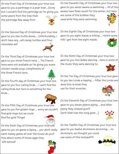 49 best 12 days of christmas images on pinterest merry