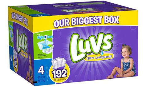 Luvs Sweepstakes - enter to win a year supply of luvs diapers get it free