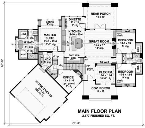 house plans three bedroom cottage house plan