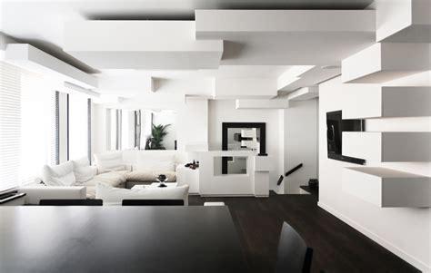 monochromatic apartment monochrome duplex apartment remodeling in paris by pascal