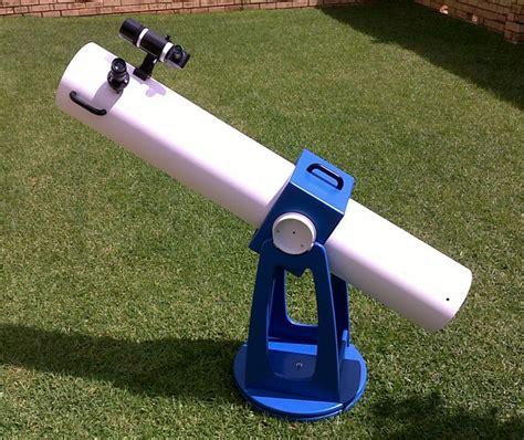 christo skylar  classic tube dobsonian diy mm newtonian telescope built   months