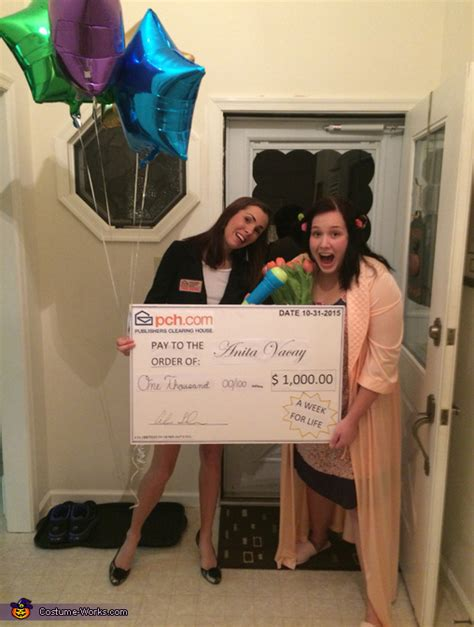Publishers Clearing House Costume - pch sweepstakes winner costume