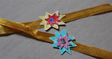 How To Make Handmade Rakhi Designs - how to make rakhi at home handmade rakhis designs