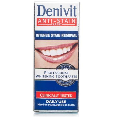 toothpaste whitening denivit professional whitening toothpaste 50ml chemist