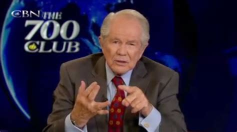 Is At It Again by Pat Robertson The 700 Club Is At It Again Thyblackman
